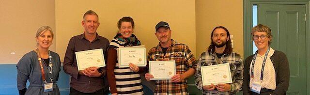 HALT Team Completes ASIST Training