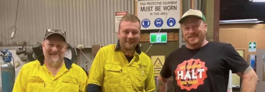 HALT Presents Apprentice with $1000 Tool Voucher